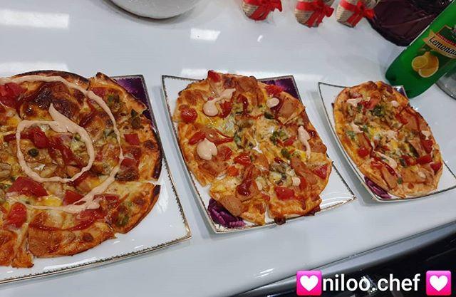 پیتزا کاملا خانگی